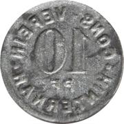 10 Pfennig - Cons.-Verein (Hinternah) – revers