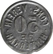 50 Pfennig - Cons.-Verein (Hinternah) – revers