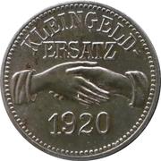10 pfennig - Kons.-Ver. Küps & Umgeg. (Küps) – revers