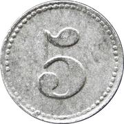 5 pfennig - Konsum Verein (Maudach) – revers