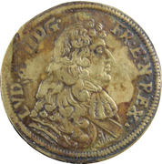 Jeton de Nuremberg Louis XIIII - LAZA GOTTL LAVFFERS RECH PFE