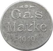 Gas Marke - Städt. Gaswerk (Neustadt a. Hdt) – revers