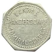 10 pfennig - Admiral Scheer (Kantinengeld) – avers