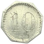10 pfennig - Admiral Scheer (Kantinengeld) – revers
