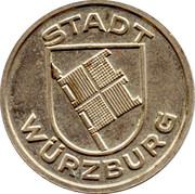 1 Wertmarke (Wurzburg) – avers