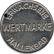 Hallenbad Wertmarke – avers