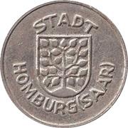 Public swimming pool token - adult - (Homburg) – avers
