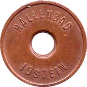Public swimming pool token - Idstein (youth) -  avers