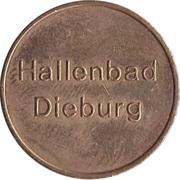 Public swimming pool token - Dieburg – avers