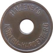 Jeton de piscine publique - Nörten-Hardenberg (adult) – avers