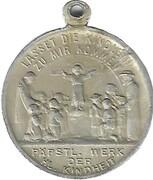 Médaille - Heilige Jungfrau Maria Bitte F.U. – revers
