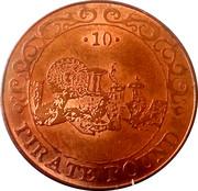 10 Pirate Pound Simba – avers