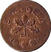 1 Pfennig (Spielgeld) -  avers