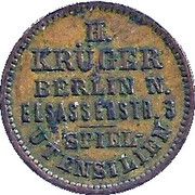 H. Krüger – avers