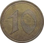10 pfennig (Für Bethel Geschäfte) -  revers