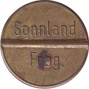 Token - Gas-Marke Sonnland Frbg. – avers