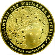 Medal - 5 Reichsmark (Goethe) – avers