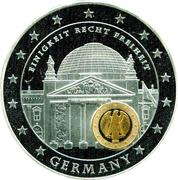 Medal - Europe Economic and Monetary Union 10 years (Germany) – avers