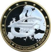 Medal - Euro-Giants – revers