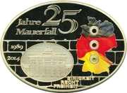 Médaille - 25 Jahre Mauerfall – avers