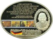 Médaille - 25 Jahre Mauerfall – revers