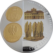 Médaille - Garden in Dessau – avers