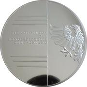 Médaille - Garden in Dessau – revers