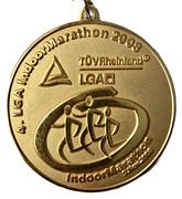 Medal - Indoor Marathon – avers