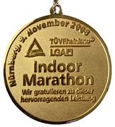 Medal - Indoor Marathon – revers