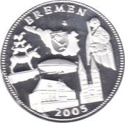 Medal - Die Deutschen Bundesländer (Bremen) – avers