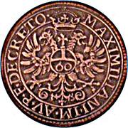 1 Guldenthaler (Réplique) – revers
