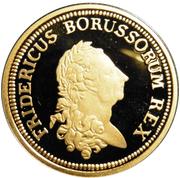 1 Dukat - Friedrich der Große - Friedrichs D'Or (Restrike) – avers