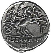 Replica - Roman Cultural Journey (Gens Serv. Rullus 217-30 BC) – revers