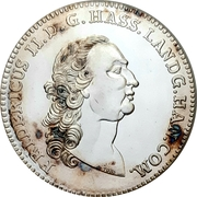 1 Thaler - Friedrich II (Replica) – avers