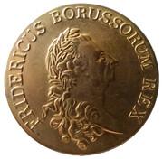 Jeton - Ein reichs thaler - Friedrich II – avers