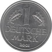 1 Deutsche Mark (double revers) – revers