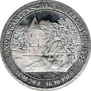 Landesgartenschau Dinkelsbühl 1988 – revers