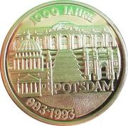 1000 Jahre Potsdam (Germany) – revers