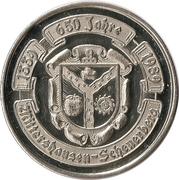 Mittershausen-Scheuerberg (650 Jahre) – avers