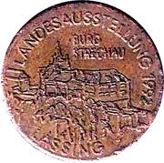 token Burg Strechau – avers