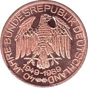 40 Jahre Bundesrepublik Deutschland (NATO) – revers