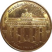 Token - Germany Deutsche Münzkollektion (Berlin - Brandenburger Tor) – avers