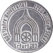 Jeton - 1250 Jahre Stadt Erfurt – revers