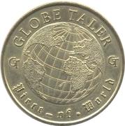 Monnaie de Paris Tourist Token - Globe Taler (Berliner Fernsehturm 1998) – revers