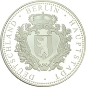Médaille - Château de Berlin – avers