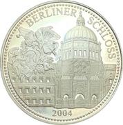Médaille - Château de Berlin – revers