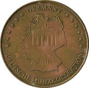 Jeton - Germany Deutsche Münzkollektion (Fort romain Saalburg) – revers