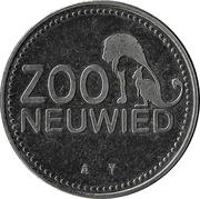 Jeton touristique - Zoo de Neuwied (Guépard) -  avers