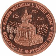 Jeton - Kaiser Wilhelm I – avers