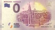 0 euro (München - Rathaus) – avers